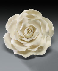 IVORY ROSE GUMPASTE FLOWER LARGE