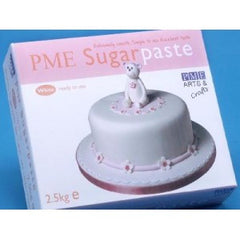 PME WHITE SUGAR PASTE 5 LBS (2.5KG) - Cake Decorating Supplies | Cake Supplies at Devine Deals