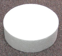 "STYROFOAM CAKE DUMMY 6"" X 2"" - Cake Decorating Supplies 