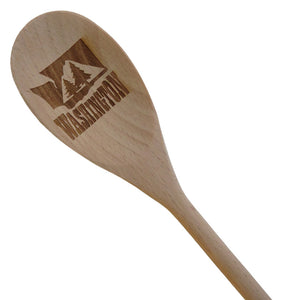 Washington Trees Wooden Spoon
