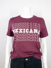 Load image into Gallery viewer, Mexicana Tee - Burgundy