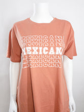 Load image into Gallery viewer, Mexicana Oversized Tee - Terracota
