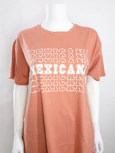 Mexicana Oversized Tee - Terracota