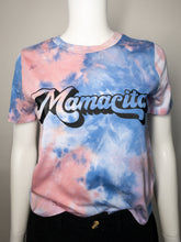 Load image into Gallery viewer, Mamacita Tie Dye Tee - Light Pink and Blue