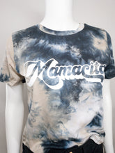Load image into Gallery viewer, Mamacita Tie Dye Tee - Black, Navy, & Tan