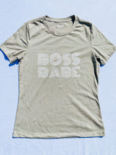 Load image into Gallery viewer, Boss Babe Tee - Stone