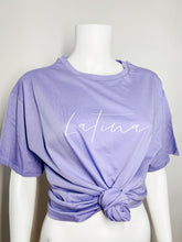 Load image into Gallery viewer, Latina Oversized Tee - Lavender
