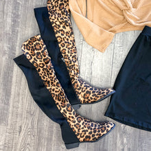 Load image into Gallery viewer, Leopard Print Boots