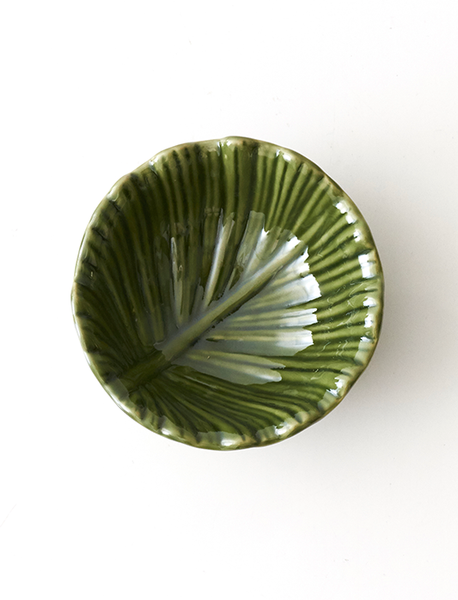 Green Leaf Inspired Mini Bowl