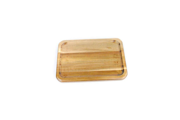 Acacia Wood Medium Rolling Tray