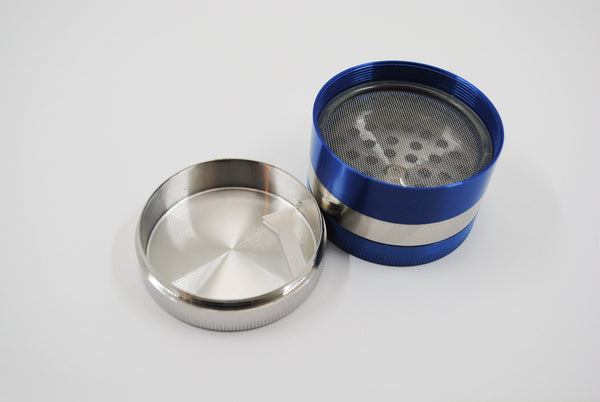 Amsterdam 4 Part Metal Grinder SmokeOutlet