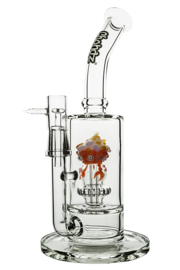 Chongz - 30cm - 'Strawberry' - 2in1 Bongs SmokeOutlet