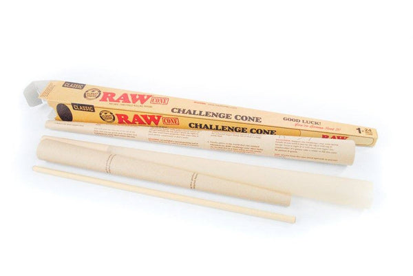 RAW Challenge Cone - 2 Foot Pre Rolled SmokeOutlet