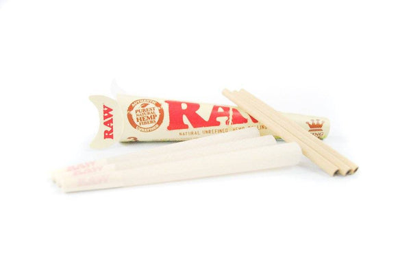 Raw King Size Organic Pre Rolled Cones (3 Pack) Pre Rolled SmokeOutlet