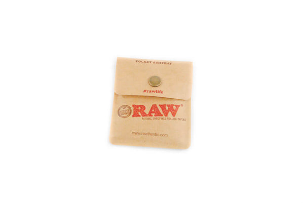 Raw Paper Pocket Ash Tray