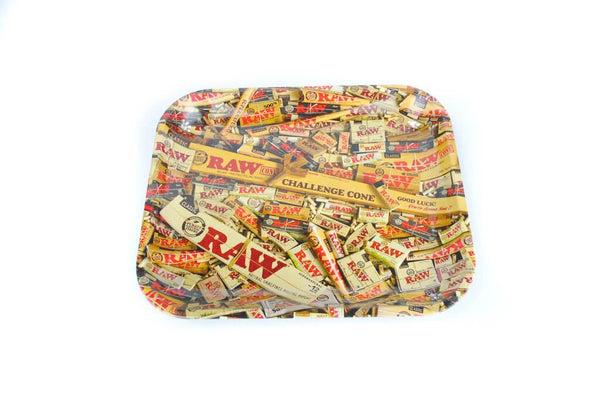 RAW Stash Large Rolling Tray Rolling Tray SmokeOutlet
