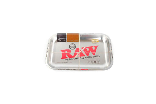 Raw Steel Effect Medium Rolling Tray