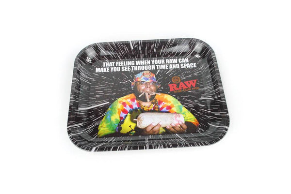 RAW Time And Space Large Rolling Tray Rolling Tray SmokeOutlet