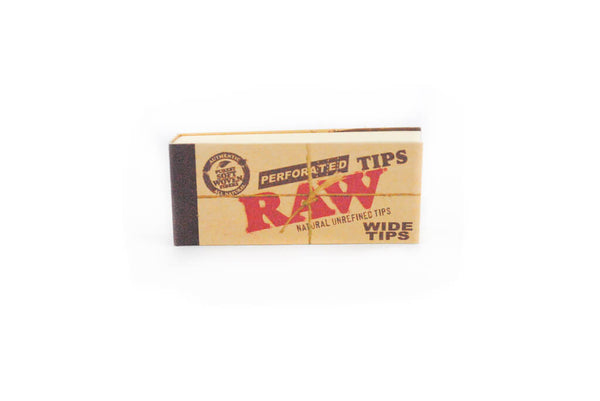 RAW Wide Perforated Roach Tips