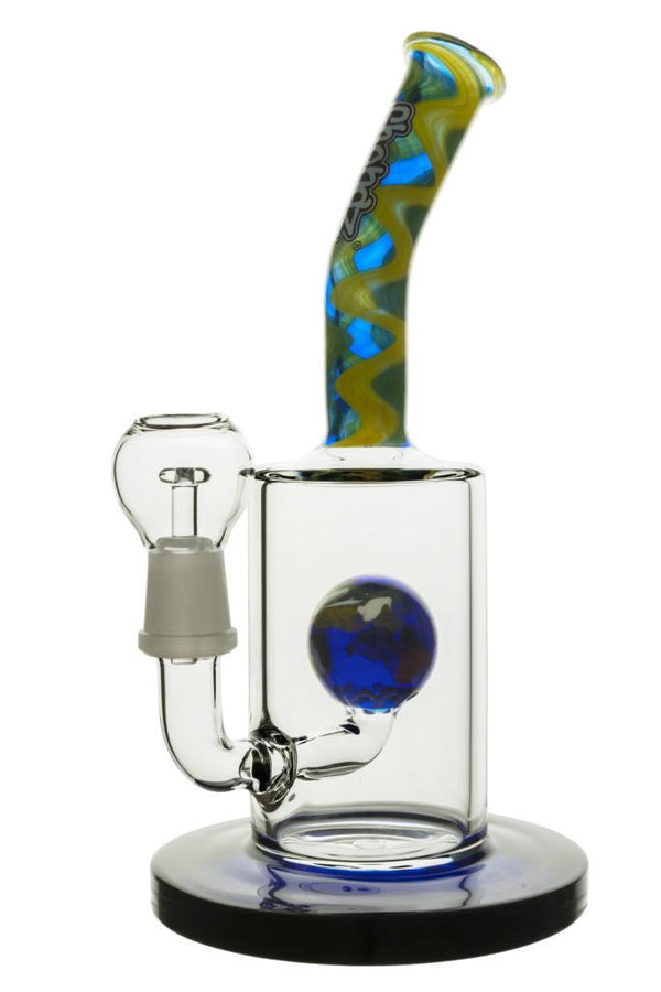 RIG - Chongz - 25cm - The Wiggonator Bongs SmokeOutlet Blue