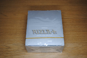 Rizla Silver King Size Slim Papers Full Box SmokeOutlet