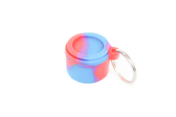 Keyring Wax Container
