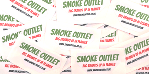 Smoke Outlet Sticker Bits 'N Bobs SmokeOutlet