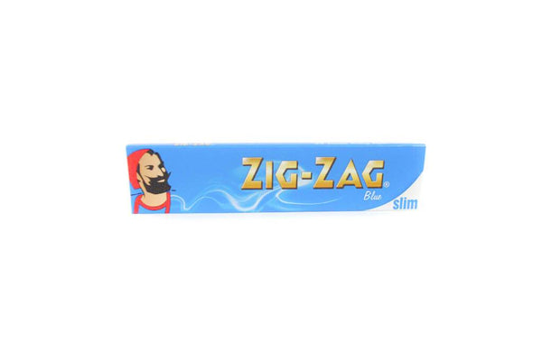 Zig Zag Blue Rolling Papers King Size Slim