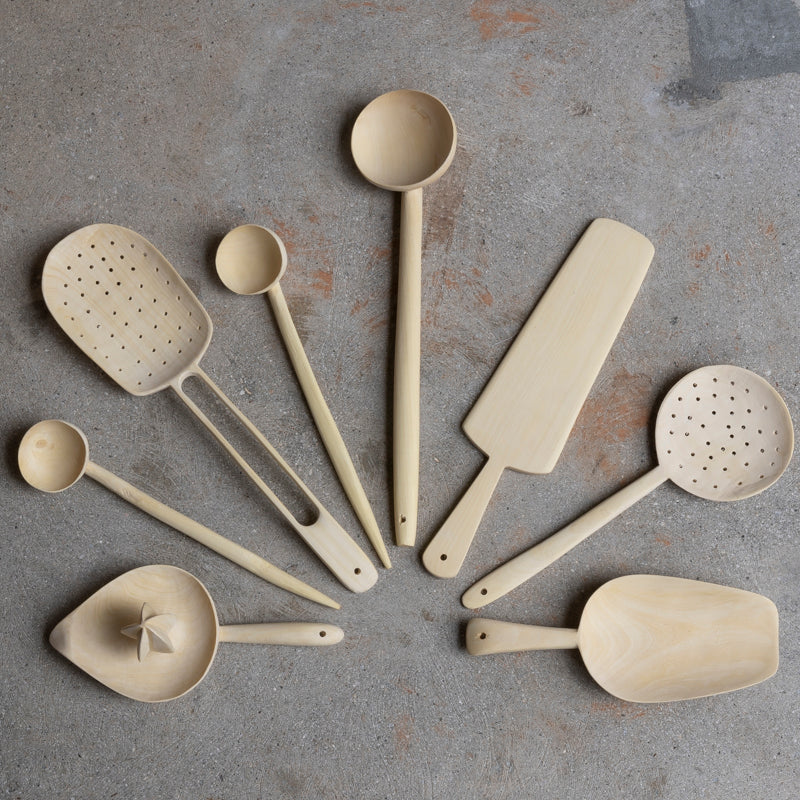 Lemonwood Strainer Spoon