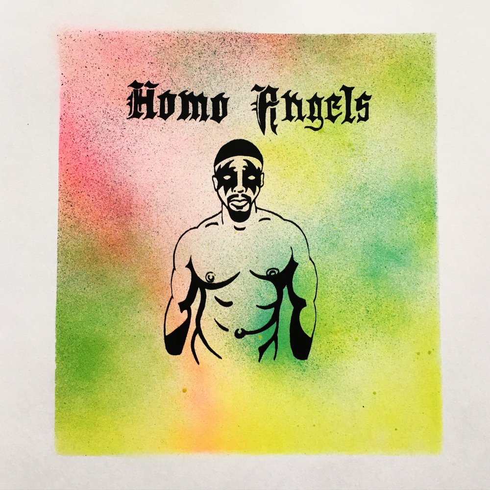 Homo Angels Screen Print