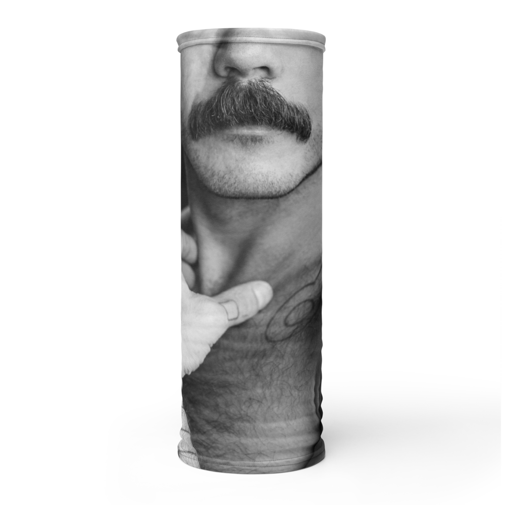 Mustache Ride Neck Gayter