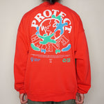 BENNETTON EMBROIDERED T-SHIRT