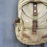 Weathered Cargo Backpack: Alternate View #2