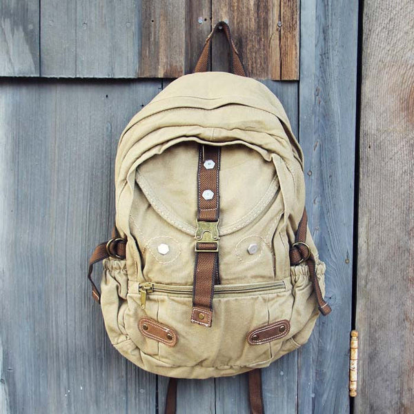 Weathered Cargo Backpack: Featured Product Image