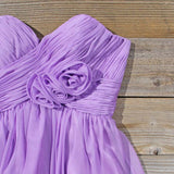 Lavender Bouquet Dress: Alternate View #2