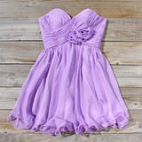 Lavender Bouquet Dress: Alternate View #1