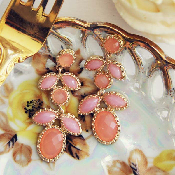 Just Peachy Earrings: Featured Product Image
