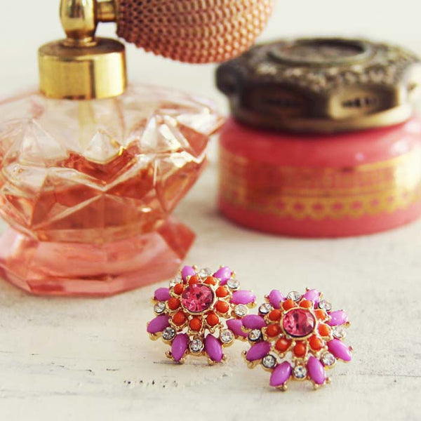 Sweet & Dreamy Earrings in Lilac: Featured Product Image