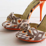 Twisted Vines Ikat Heels: Alternate View #2
