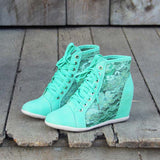 Lush Meadows Lace Sneakers: Alternate View #1