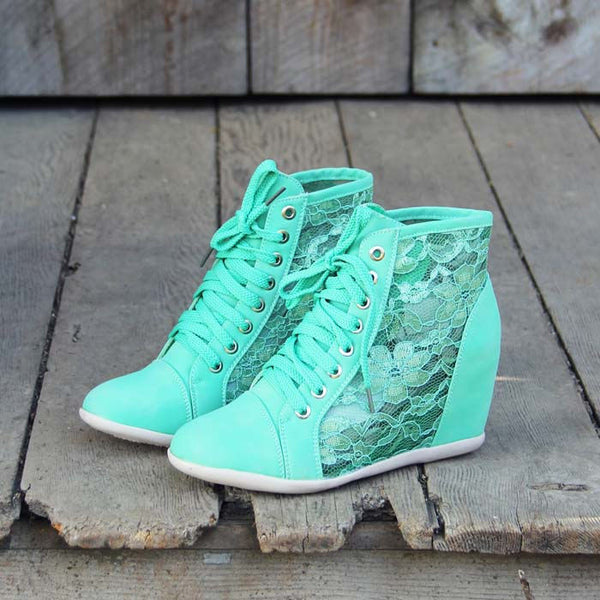 Lush Meadows Lace Sneakers: Featured Product Image