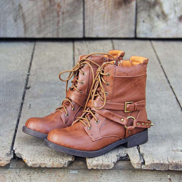 Stromridge Studded Boots: Featured Product Image