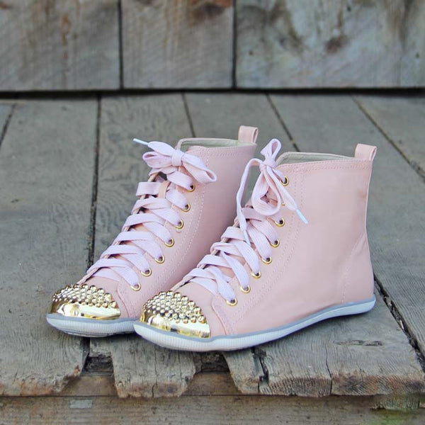 Pink Hightops: Featured Product Image
