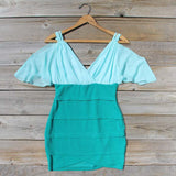 Oasis Mint Dress: Alternate View #1