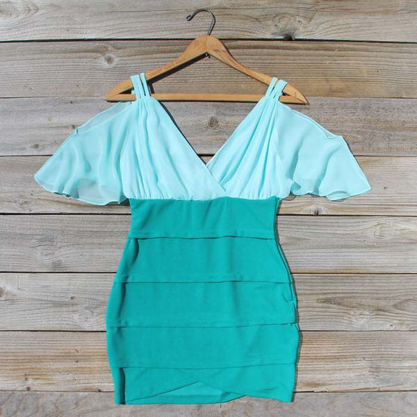Oasis Mint Dress: Featured Product Image