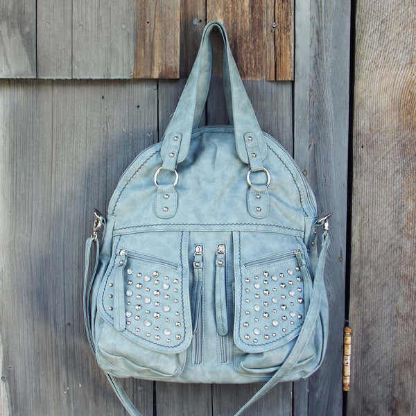 Thunder & Mist Studded Tote: Featured Product Image