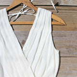 Pintucks & Chiffon Romper: Alternate View #3