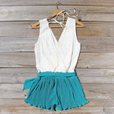Pintucks & Chiffon Romper: Alternate View #4