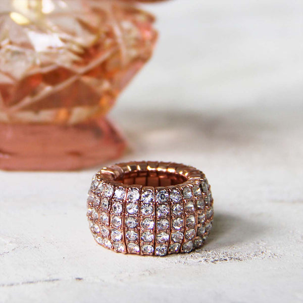 Aglow Rose Gold Ring: Featured Product Image