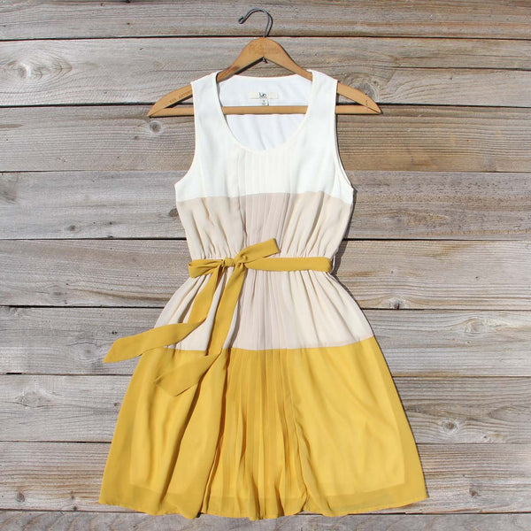 Peach Grove Dress in Honey: Featured Product Image